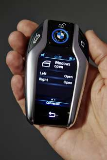 Key fob with display (01/2015)