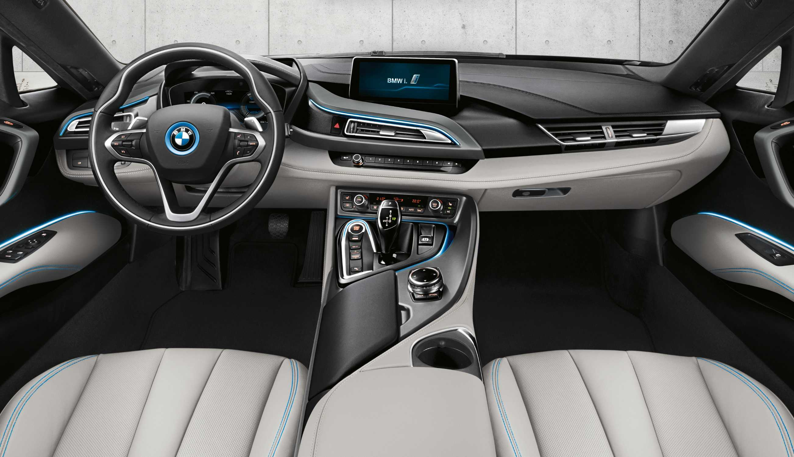 Bmw I8 2015 Interior Images Galleries
