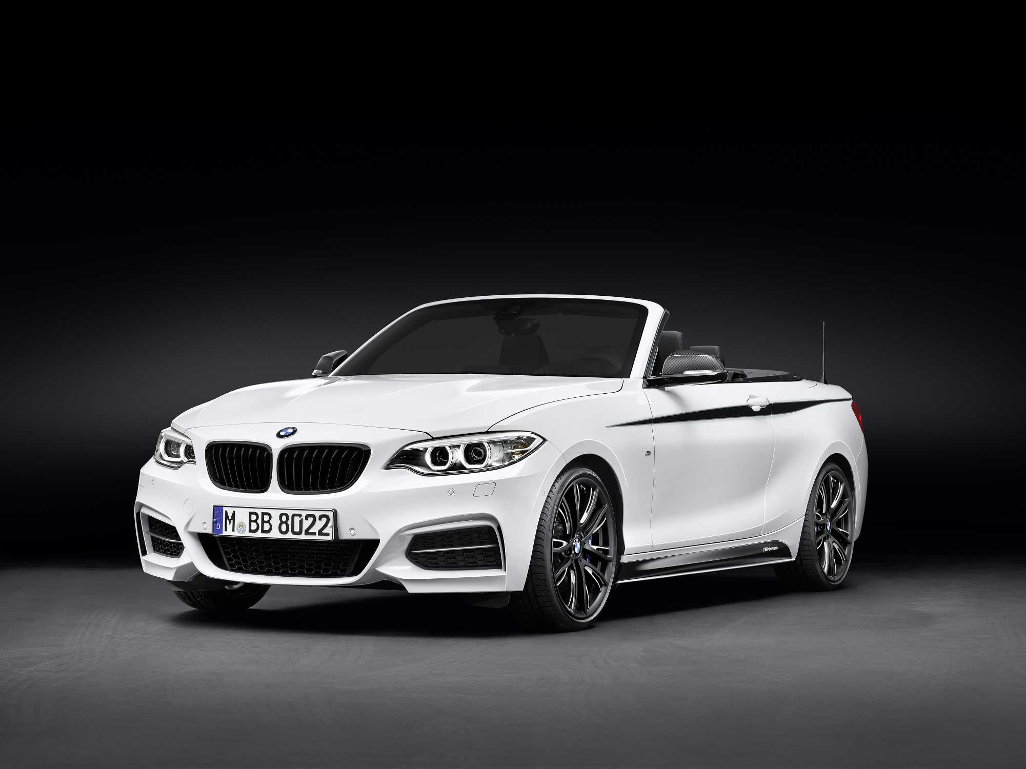 bmw m performance parts f r das bmw 2er cabrio. Black Bedroom Furniture Sets. Home Design Ideas