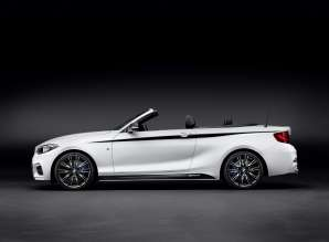 The new BMW 2 Series Convertible with BMW M Performance Parts (01/2015)
