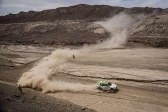 Erik van Loon (NL) Wouter Rosegaar (NL) - MINI ALL4 Racing # 314 - X-Raid Team - Dakar 2015