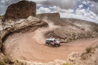 Boris Garafulic (CL) Filipe Palmeiro (PT) - MINI ALL4 Racing # 319 - X-Raid Team - Dakar 2015