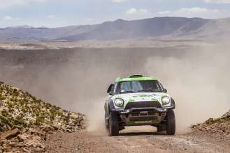 Erik van Loon (NL) Wouter Rosegaar (NL) - MINI ALL4 Racing # 314 - X-Raid Team - Dakar 2015