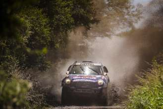 Nasser Al-Attiyah (QT) - MINI ALL4 Racing # 301 - Qatar Rally Team - Dakar 2015