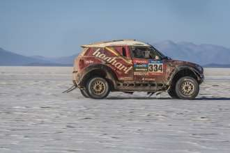 Stephan Schott (DE) Holm Schmidt (DE) - MINI ALL4 Racing # 334 - X-raid Team - Dakar 2015