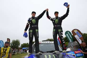 Krzysztof Holowczyc (PL) Xavier Panseri (FR) - MINI ALL4 Racing # 306 - Monster Energy Rally Raid Team - Dakar 2015