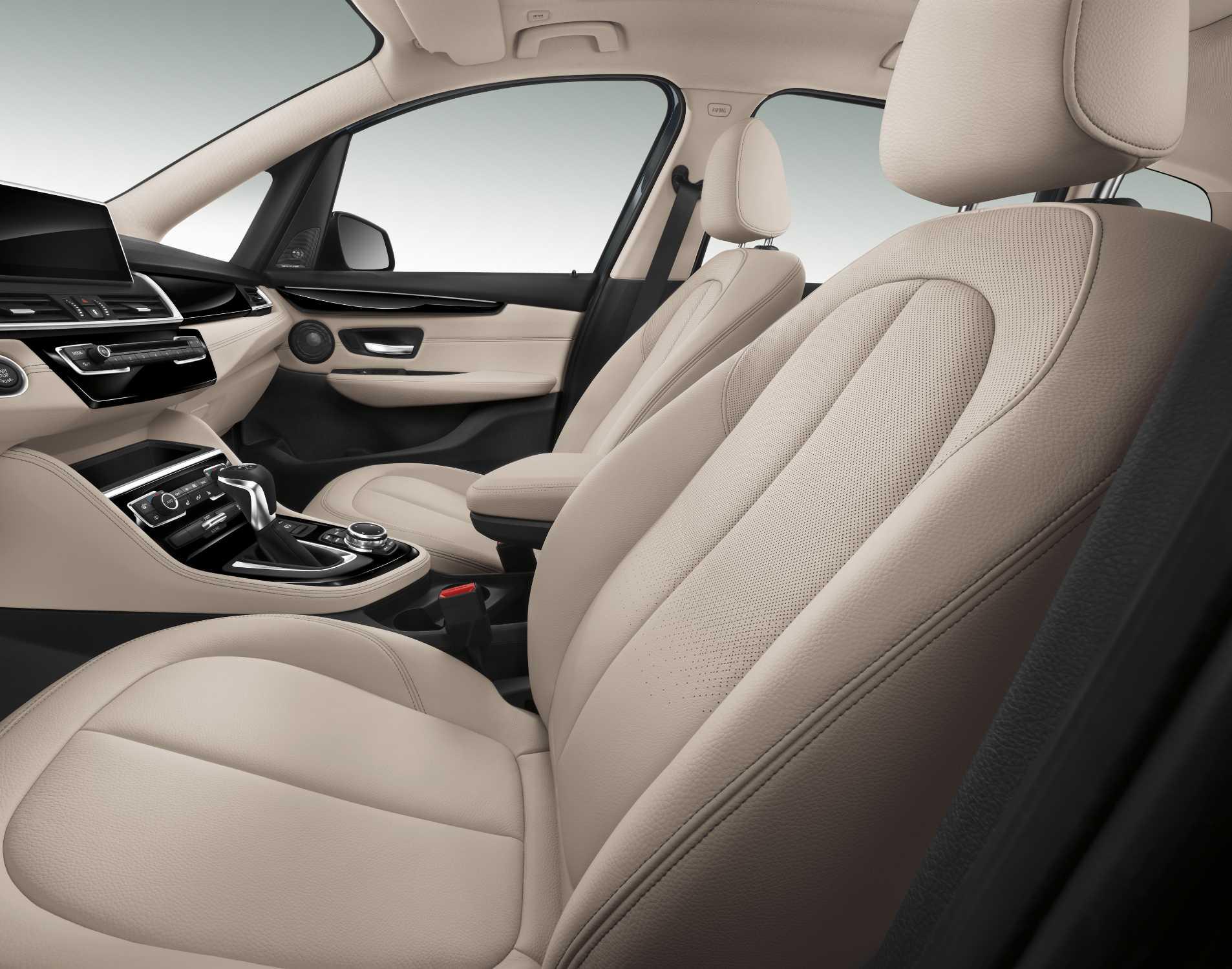 the new bmw 2 series gran tourer interior leather dakota oyster