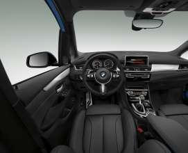 The new BMW 2 Series Gran Tourer, Interior M Sport package (02/2015)
