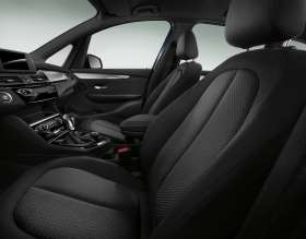 The new BMW 2 Series Gran Tourer, Interior, Grid cloth Anthracite (02/2015)