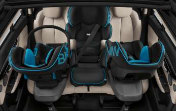 BMW 2 Series Gran Tourer, Accessories, BMW Baby Seat 0+ with ISOFIX Base  (02/2015)