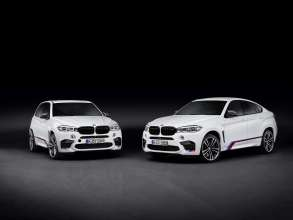 The new BMW X5 M and the new BMW X6 M with BMW M Performance Parts (01/2015).