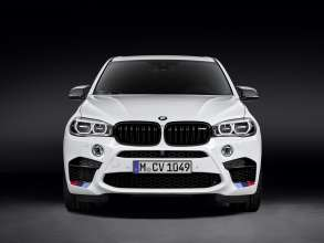 The new BMW X5 M with BMW M Performance Parts (01/2015).