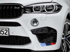 The new BMW X6 M with BMW M Performance Parts (01/2015).