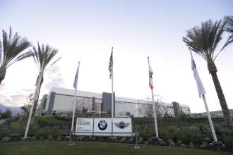 The new BMW Regional Parts Distribution Center (RDC) in Redlands, Calif. officially opened on Friday, January 23, 2015. The fully-secured, LEED Silver certified, state-of-the-art RDC will primarily supply BMW Group dealerships in Southern California, Southern Nevada, Arizona and Hawaii. (01/2015)