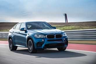 Der neue BMW X6 M. On Location. Fahraufnahmen (01/2015).
