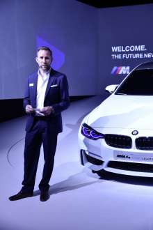 BMW M4 Concept Iconic Lights@CES 2015, Thomas Hausmann, Head of Functions and Advanced Development Lighting (02/2015)