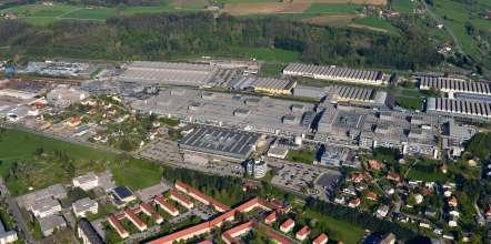 BMW Werk Steyr, Flugaufnahme (01/2015)