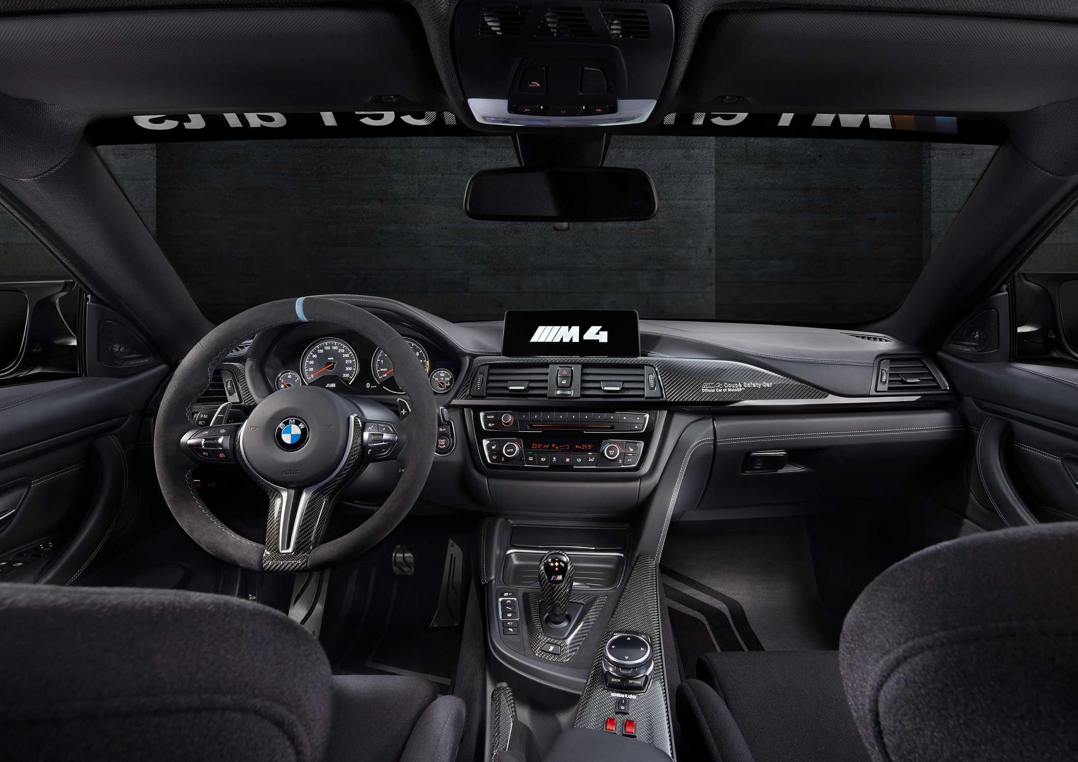Bmw M4 Motogp Safety Car Interior 02 2015