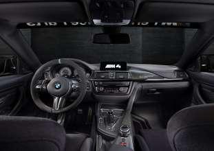 BMW M4 MotoGP Safety Car. Interieur. (02/2015)