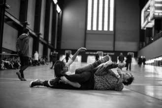 Boris Charmatz, If Tate Modern was Musée de la danse 2015 For Marketing Photography 29.01.2015 BMW Tate Live Photo © Hugo Glendinning 2015