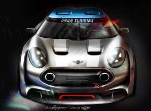 Sketches MINI Clubman Vision Gran Turismo. (02/2015)
