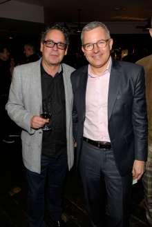 Udo Kittelmann (Direktor Nationalgalerie Berlin) und Wolfgang Büchel (Leiter BMW Niederlassung Berlin) (02/2015)