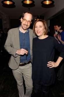 Die Gäste Christoph Niemann und Lisa Zeitz, Chefredakteurin der Weltkunst (02/2015)