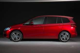Der neue BMW 2er Gran Tourer: Studioaufnahmen - Exterieur (02/2015).