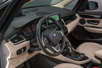 Der neue BMW 2er Gran Tourer: Studioaufnahmen - Interieur (02/2015).