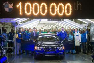 BMW South Africa celebrating the 1 millionth 3 Series (02/2015).
