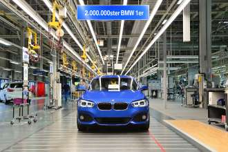 The 2,000,000th BMW 1 Series (03/2015)