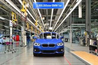 Der 2.000.000ste BMW 1er (03/2015)