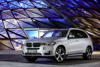 The new BMW X5 xDrive40e. On location BMW Welt.