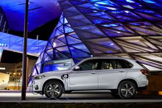 The new BMW X5 xDrive40e. On location BMW Welt.
