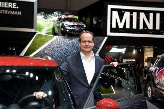 Sebastian Mackensen, Senior Vice President MINI. (03/2015)