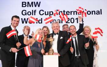 BMW Golf Cup International Weltfinale, Sydney - Team Austria (03/2015).