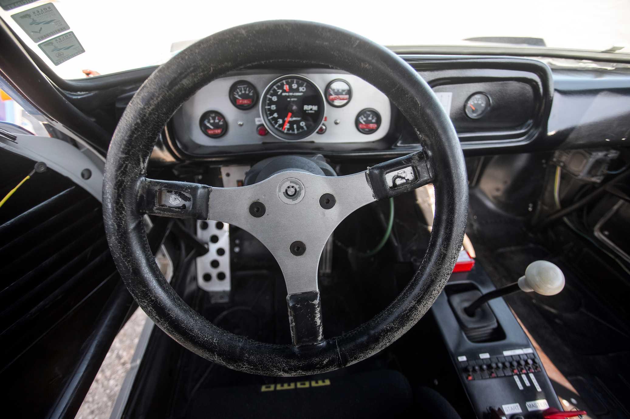 The No BMW CSL Cockpit Winner Hours Of Sebring - 1975 bmw 3 0 csl