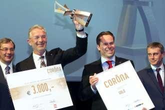 BMW Group Werk Steyr - Gewinn des Nachhaltigkeitsawards Corona in Gold 2015 (03/2015).