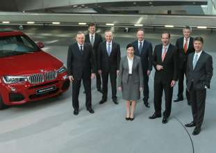 BMW Group Annual Accounts Press Conference in Munich on 18 March 2015: The Board of Management of BMW AG (03/2015).