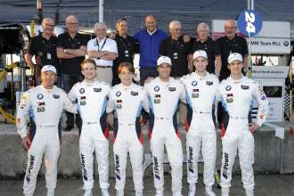 18.03.2015 to 21.03.2015, Tudor United Sportscar Championship 2015, Mobil 1 12 Hours of Sebring Fueled by Fresh from Florida, Sebring International Speedway, Sebring, FL. (USA). Team '75 and Team of '15. BMW Team RLL, BMW Z4 GTE. This image is Copyright free for editorial use © BMW AG