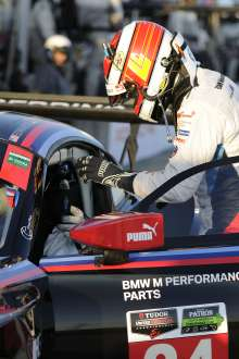 18.03.2015 to 21.03.2015, Tudor United Sportscar Championship 2015, Mobil 1 12 Hours of Sebring Fueled by Fresh from Florida, Sebring International Speedway, Sebring, FL. (USA). Lucas Luhr (DEU), No 24, BMW Team RLL, BMW Z4 GTE. This image is Copyright free for editorial use © BMW AG