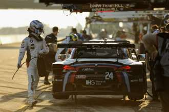 18.03.2015 to 21.03.2015, Tudor United Sportscar Championship 2015, Mobil 1 12 Hours of Sebring Fueled by Fresh from Florida, Sebring International Speedway, Sebring, FL. (USA). John Edwards (USA), No 24, BMW Team RLL, BMW Z4 GTE. This image is Copyright free for editorial use © BMW AG