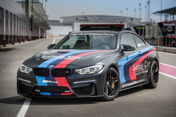 """""""Official Car of MotoGP"""": BMW M z innowacyjną technologią w sezonie 2015."""
