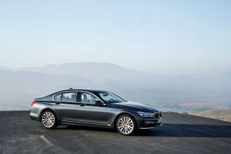 The new BMW 7 Series 730d (06/2015).