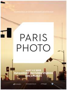 BMW is an official partner of Paris Photo LA. The fair takes place from May 1-3, 2015 at Paramount Picture Studios. (04/2015)