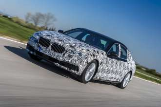 PreDrive BMW 7 Series camouflaged - Driving Dynamics and Ride Comfort (04/2015).