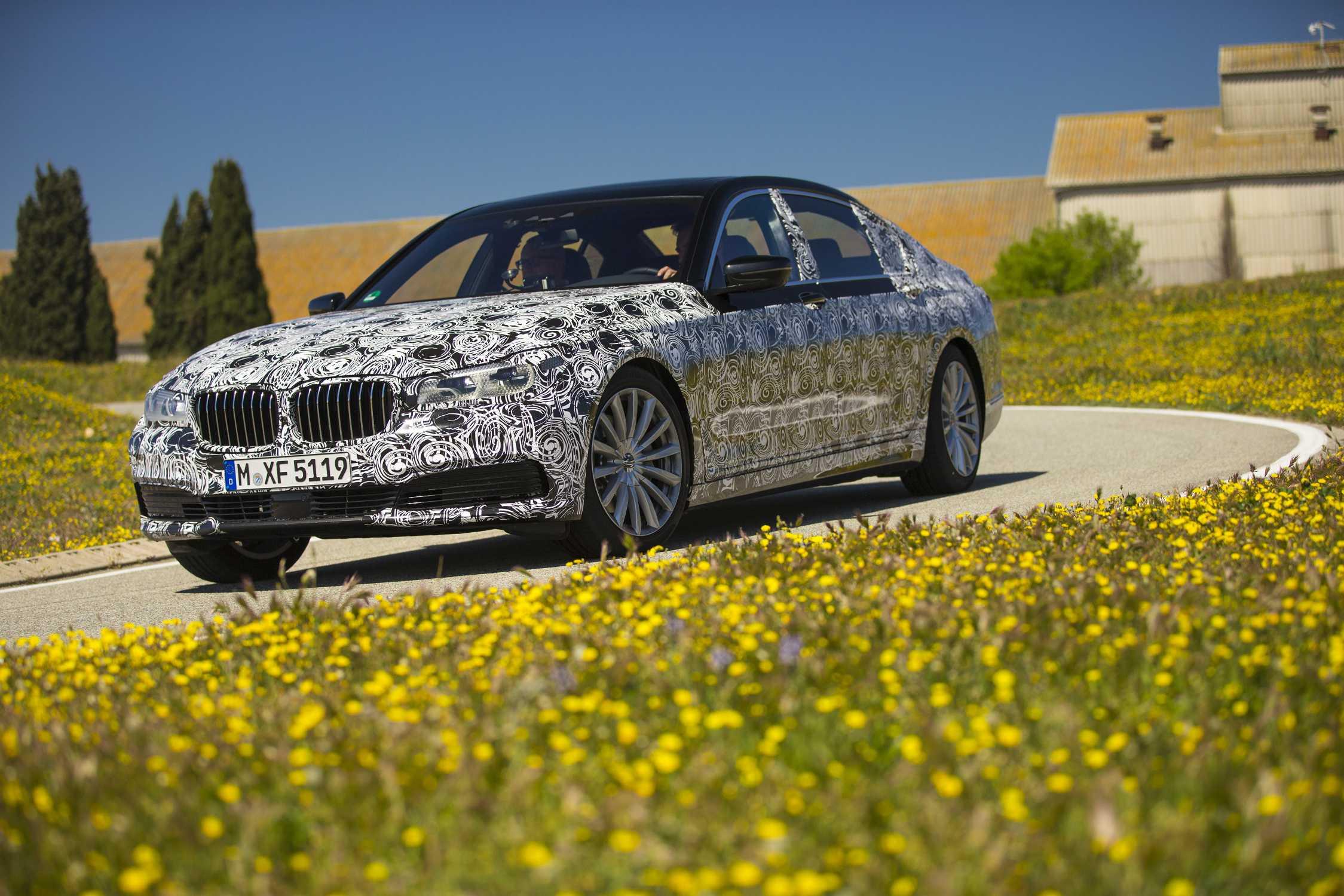 Technology And Innovation Workshop On The New BMW 7 Series Model Range PreDrive Miramas