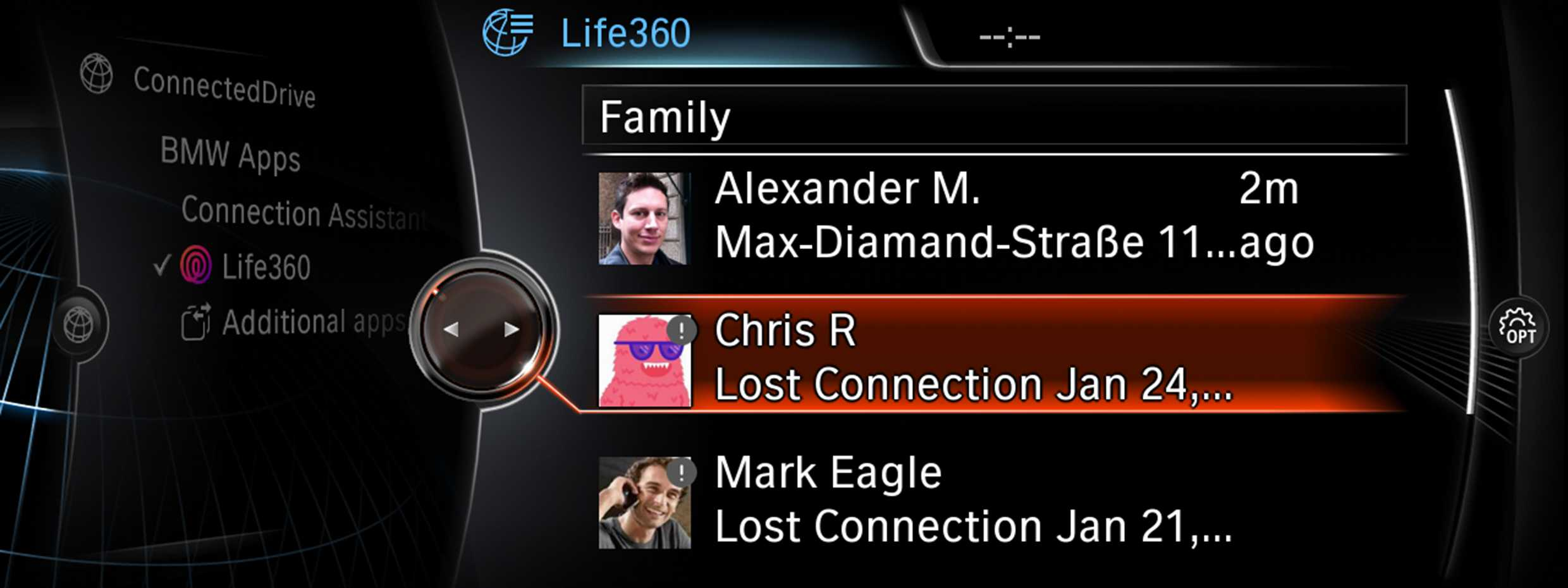 Life360 – The popular family app is now available in BMW and