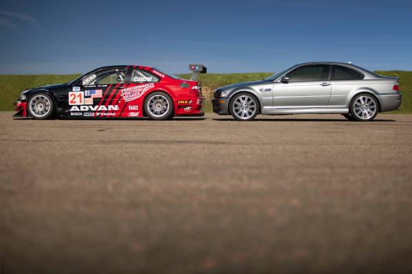 The Bmw E46 M3 Gtr Wearing 2006 Alms Spec No 21 Livery And