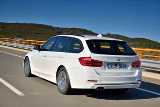 The new BMW 320d Touring EfficientDynamics Edition, Modell Sport Line (05/2015) 